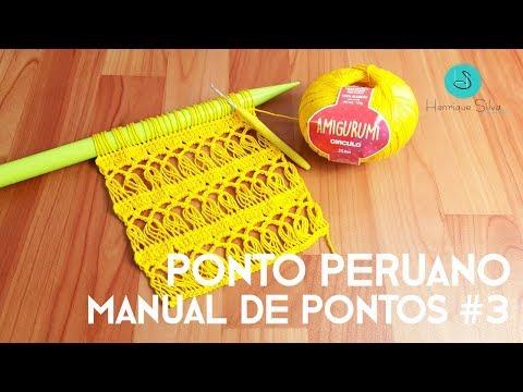 Crochê Peruano - Manual De Pontos 3 - Henrique Silva TV