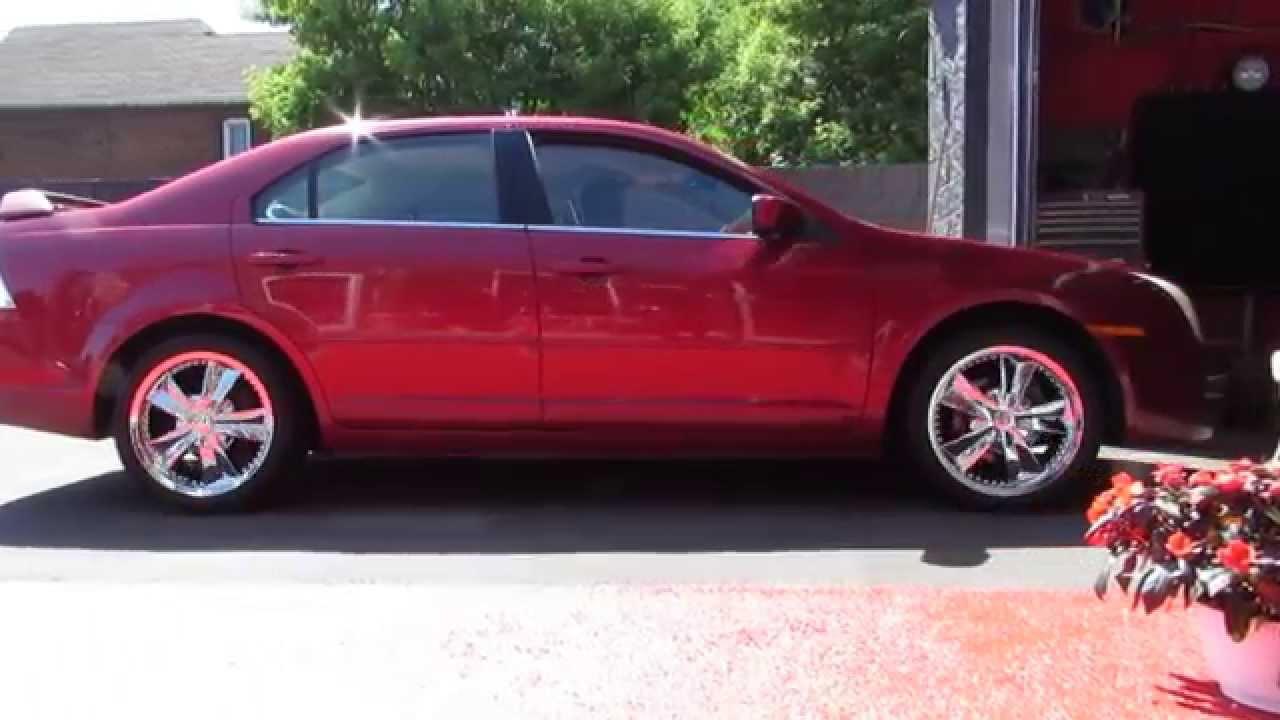 hillyard custom rimtire 2006 ford fusion 18 inch chrome rimstires youtube - 2010 Ford Fusion Custom Rims