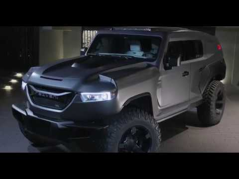 All New 2020 Rezvani Tank Joins The Rezvani Arsenal Youtube