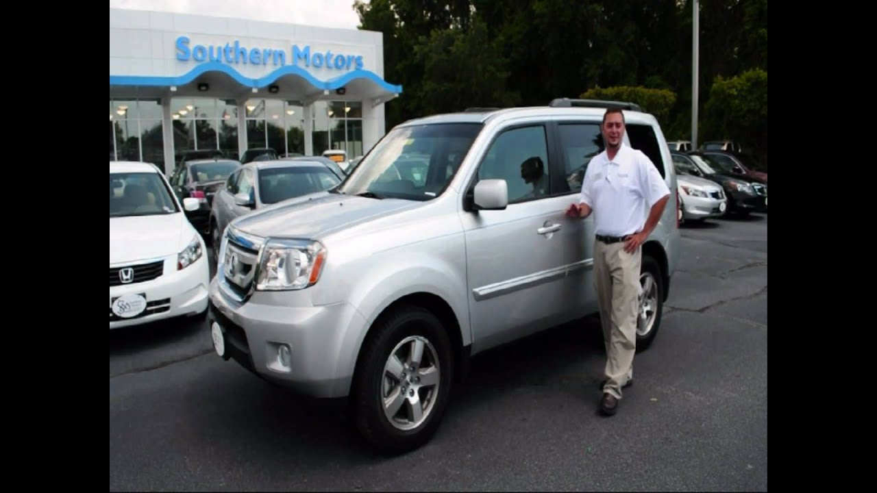 2011 honda pilot demonstration southern motors honda for Southern motors savannah georgia
