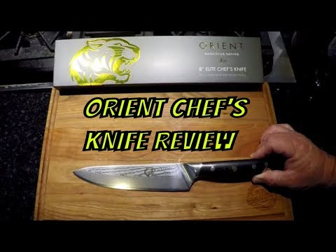 Orient Damascus Chef's Knife Review