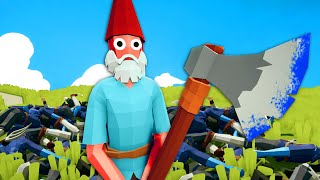 No One Expects The Gnome Faction  - Totally Accurate Battle Simulator (TABS)