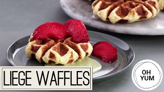 How to Make DELICIOUS Waffles