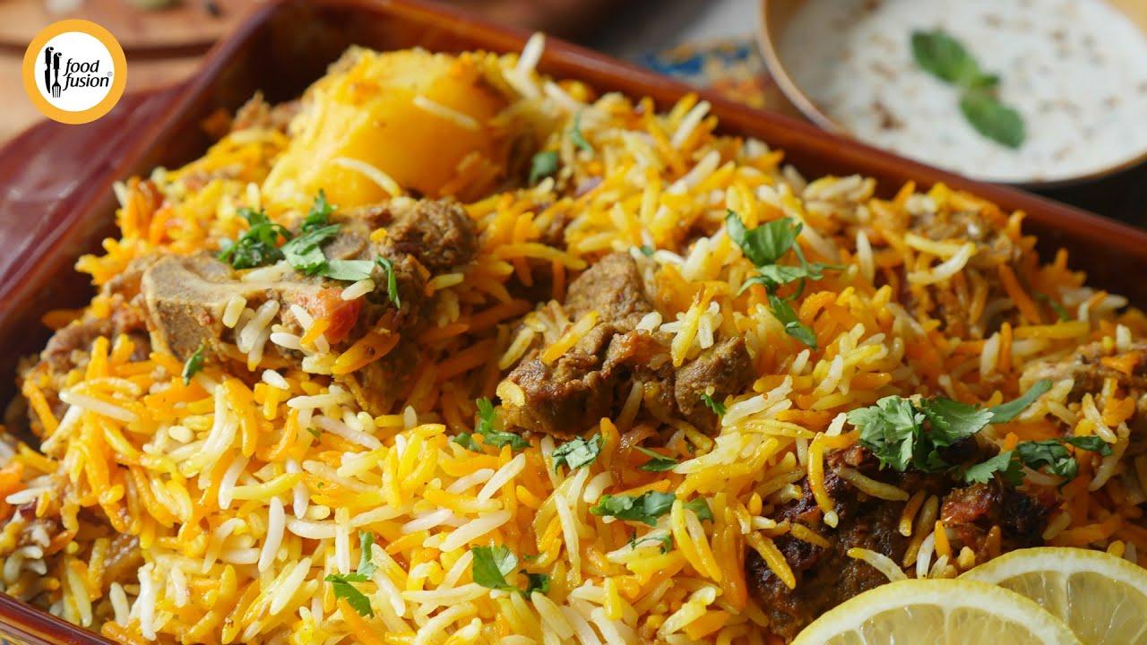 Make & Store Beef Biryani Recipe By Food Fusion