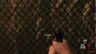 Black Ops 2 Zombies Tranzit Montar mesa lector navcards, coger navcard e insertar navcard en lector