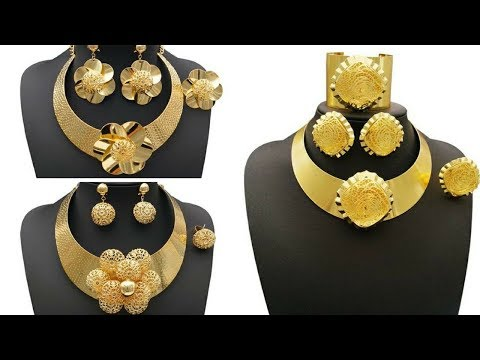 Top 20 Bombay Gold Necklace set in Mesh Model Collection // 22k Gold Necklace Collection 2017