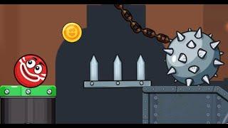 Ball Hero Adventure: Red Bounce Ball Full Gameplay Walkthrough