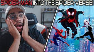 Spider-Man: Into the Spider-Verse (2018) Movie Reaction! FIRST TIME WATCHING!