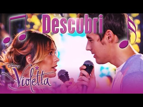 VIOLETTA STARS Tini & Jorge with Descubri - Hits from season 3 | Disney Channel Songs