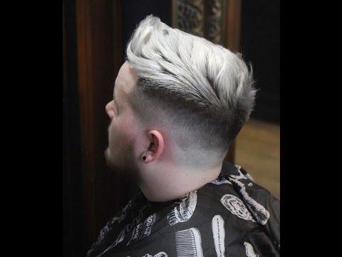 2020 Trend Erkek Beyaz Sac Boya Modasi Detayli Kuafor Veysel Youtube