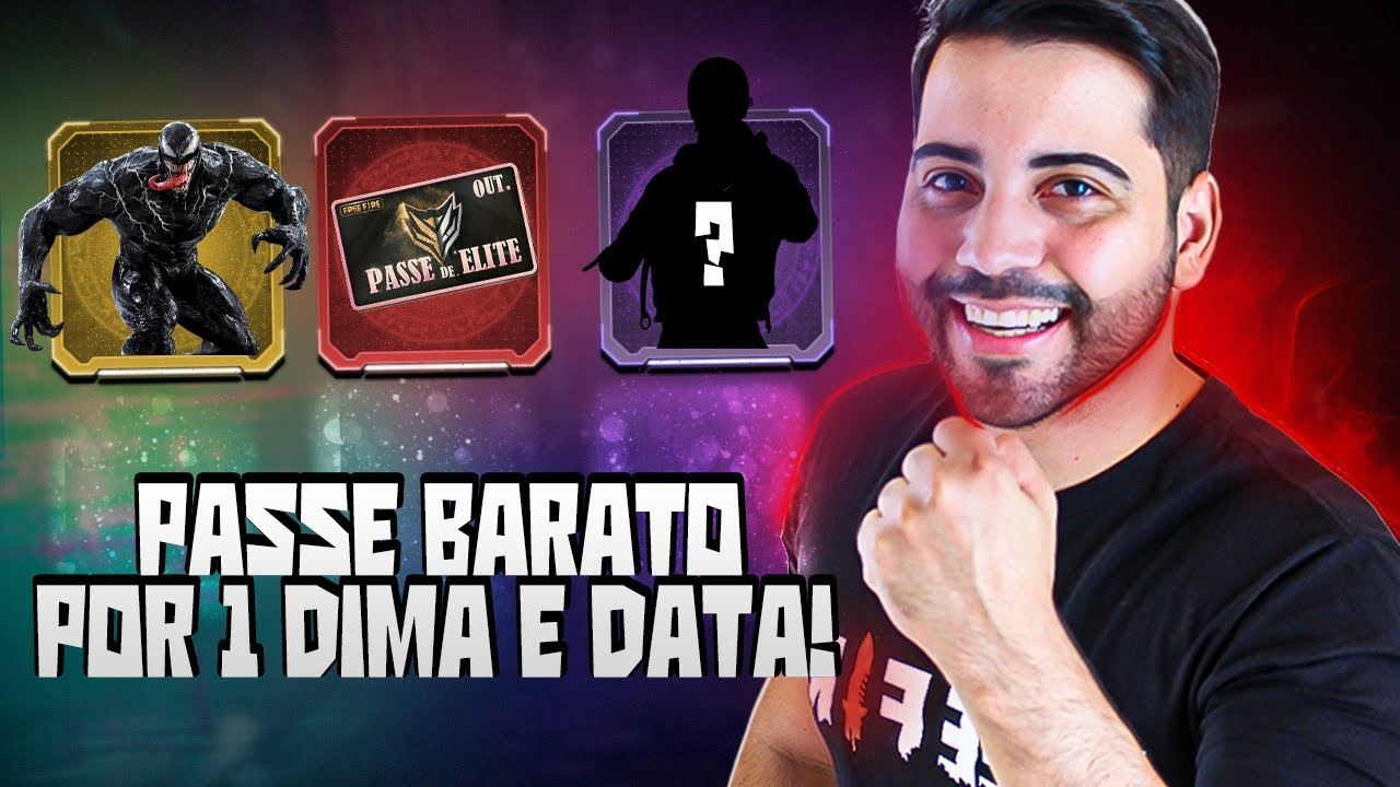 CORRE! PASSE BARATO POR 1 DIMA E DATA! TUDO DE GRAÇA DO MEGA EVENTO VENON E ROYALE DE DIMAS!