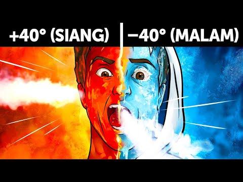 Mampukah Kita Bertahan dari Siang Super Panas dan Malam Super Dingin?