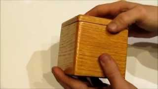 Wooden Puzzle Box From Www.jaywhitecreations.com