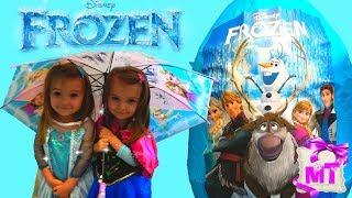 Гигантский Сюрприз Холодное Сердце как Мультфильмы Дисней 2017 Мультик от Magic Twins/ Frozen Disney