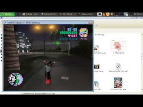 caballito en gta vice city en  GNU/LINUX Videos De Viajes