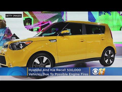 Hyundai, Kia Recall Over 500K Vehicles Due To Engine Fire