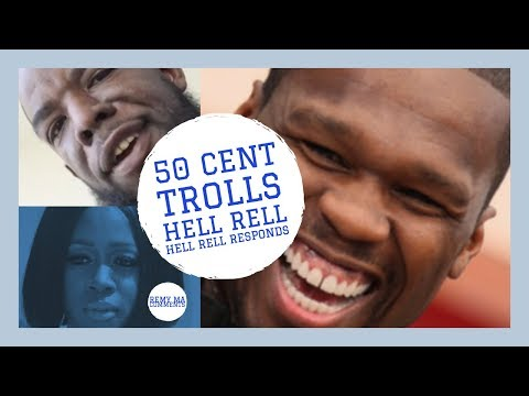 50 Cent TROLLS Hell Rell Getting Jumped, Hell Rell Responds to 50 Cent, Remy Ma Comments