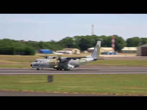 Czech Air Force CASA C-295M - RIAT 2017 Departures