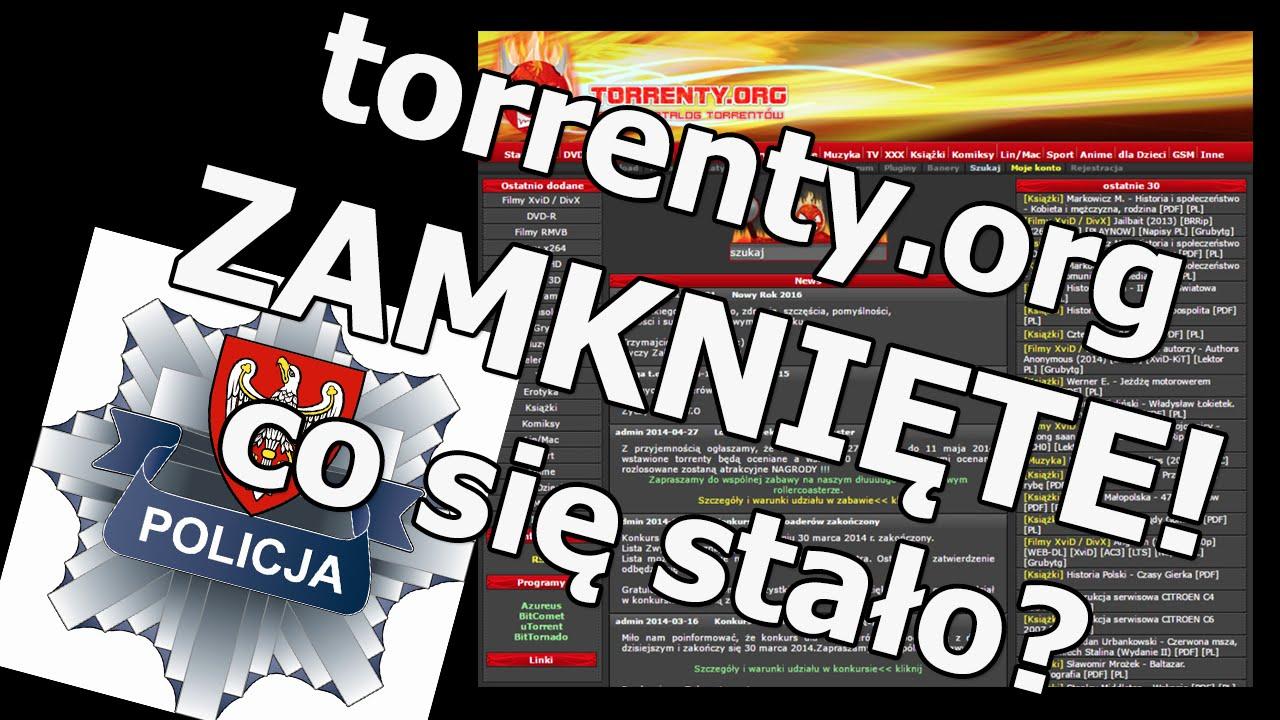 torrenty.org ZAMKNIĘTE 2016 - walka z polskim piractwem | Policja | dlaczego nie działa? HD