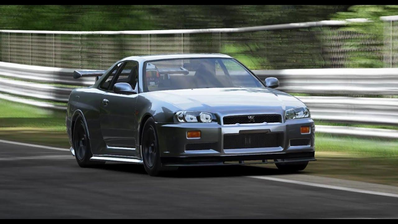 Project Cars - Nissan Skyline R34 GTR MOD + Download - YouTube