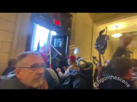 Protesters Enter Halls of Congress in Washington