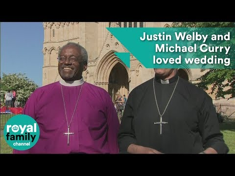 Justin Welby and Michael Curry loved royal wedding