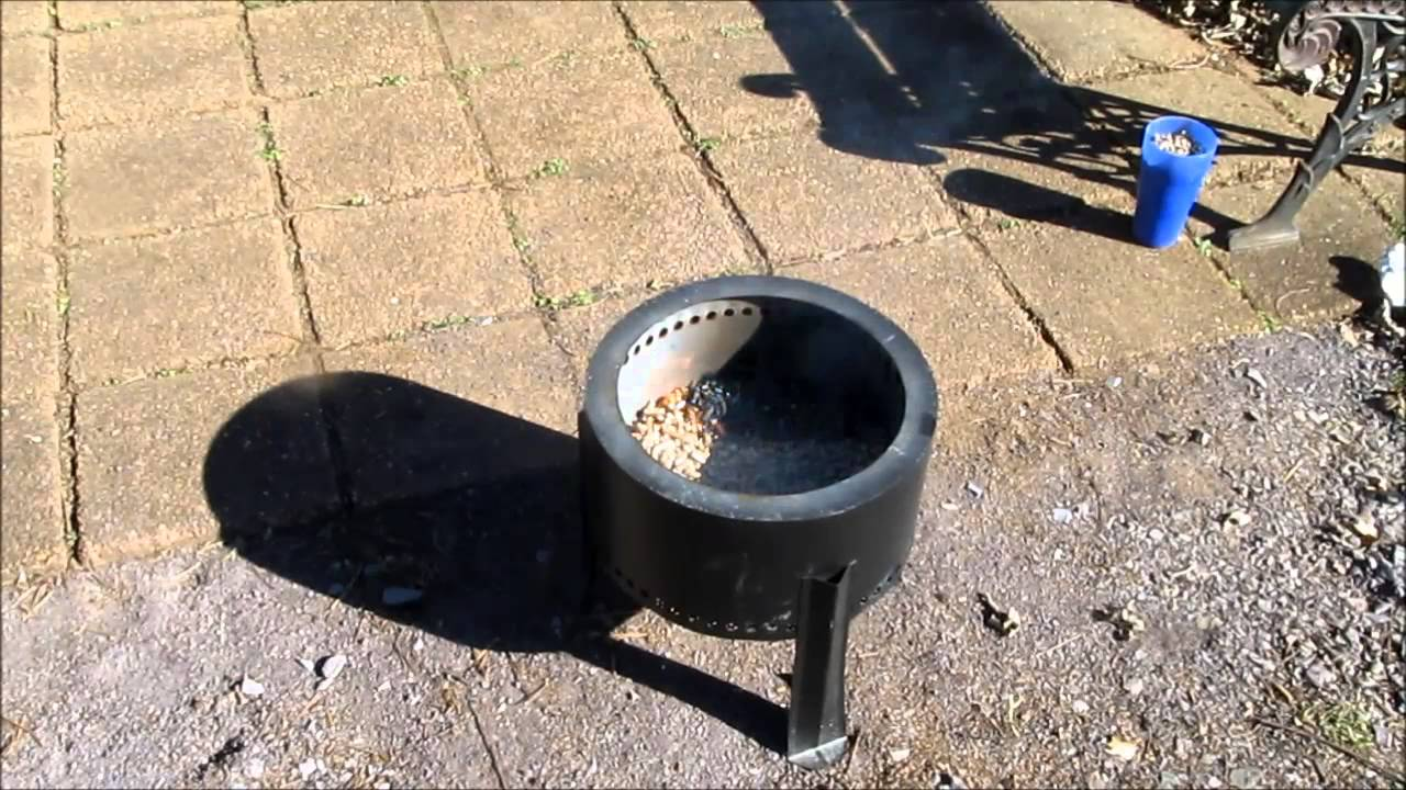 Pellet Fire Pit Youtube