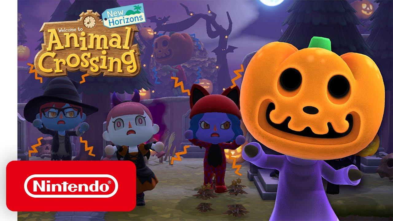 'Animal Crossing: New Horizons' Halloween Event