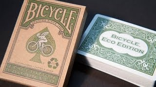 Bicycle Eco Edition Deck Review HD