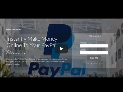 Instant Cash System Review   Is Instant PayPal Cash System The Best Cash System? :)