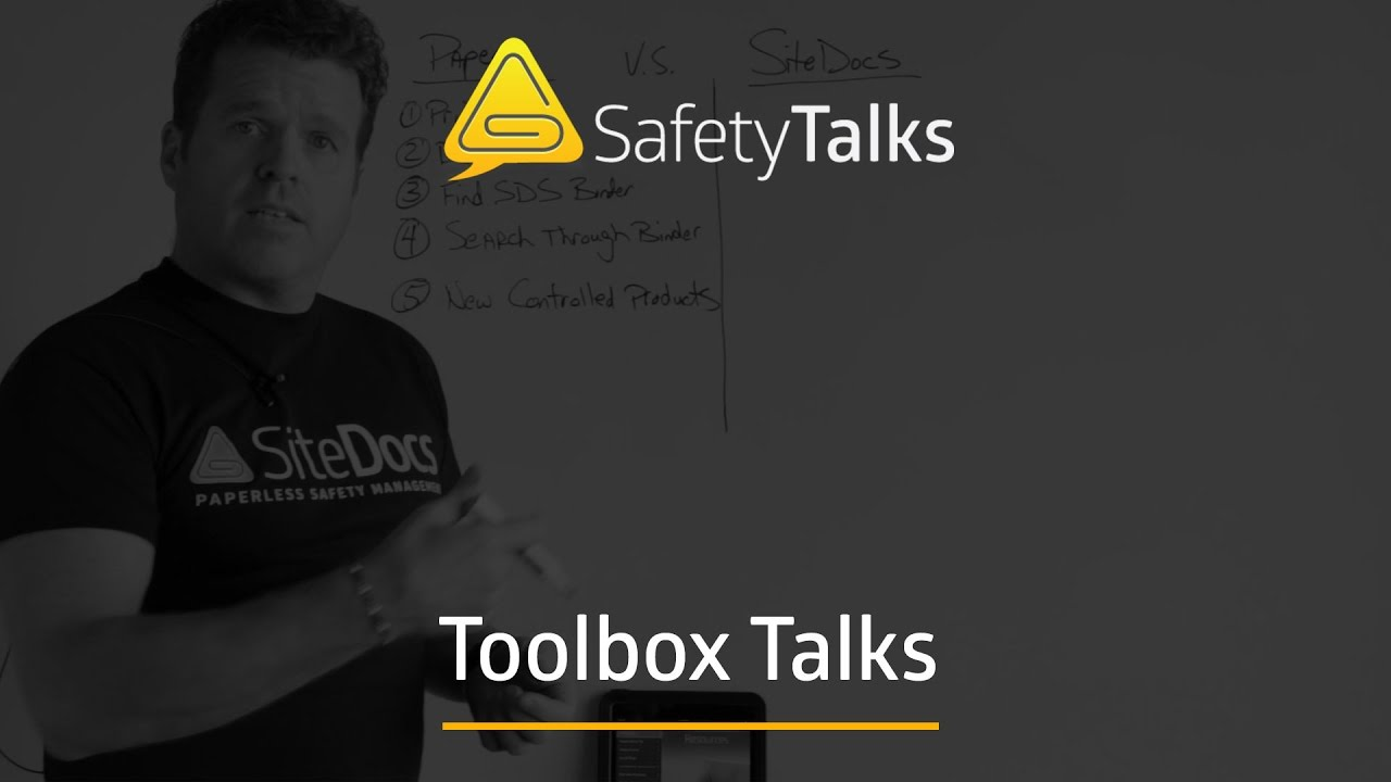Free Toolbox Talk PDF Downloads - OSHA, Canada and more