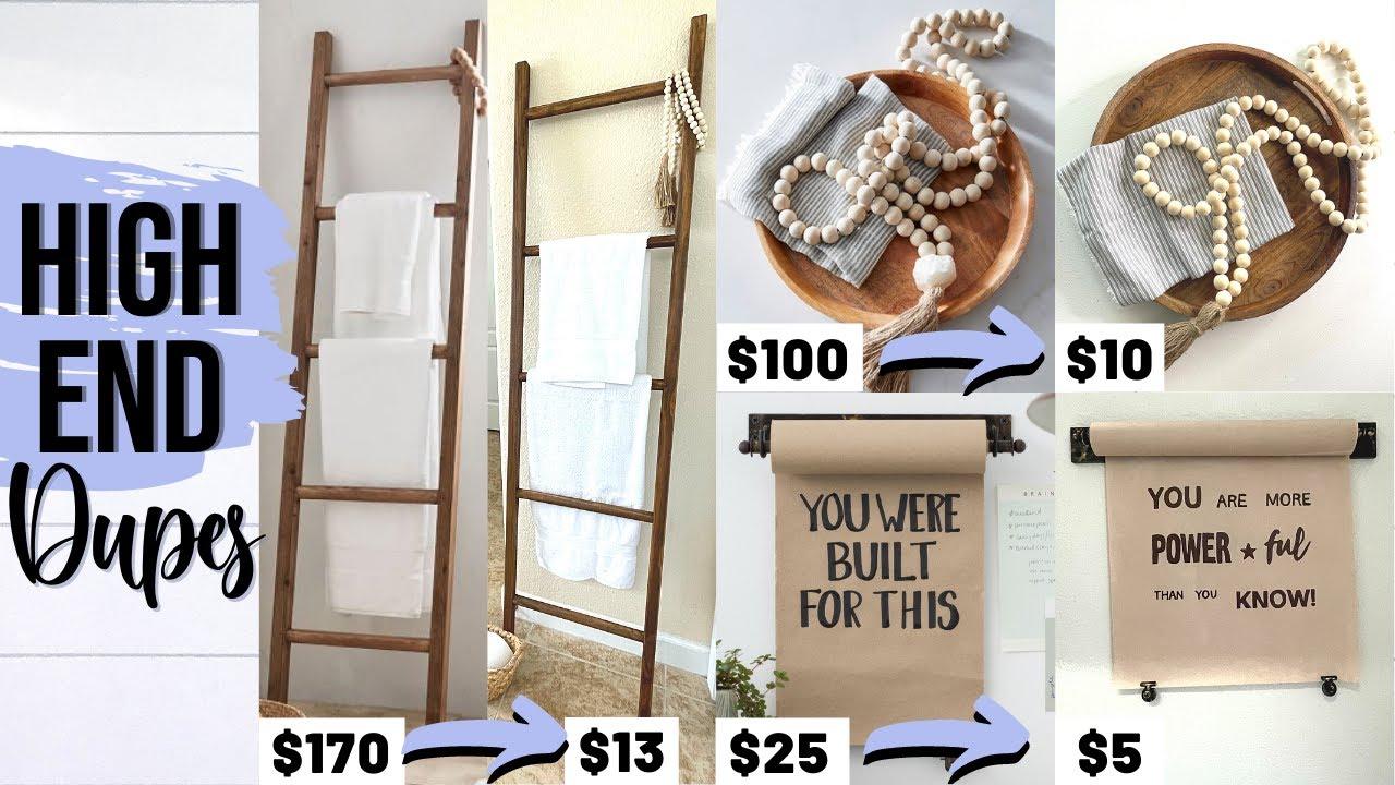 ⭐️Copy HIGH END Designer Home Decor & $ave a Ton!