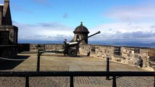 Edinburgh Castle One O Clock Gun