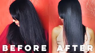 I Try Making The Best Hair Mask For Super Shiny And Silky Hair In One Day