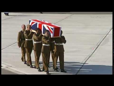 Repatriation of three UK servicemen 29.03.12