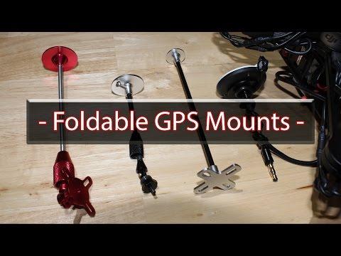 Foldable GPS Mounts - Closer Look