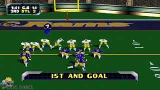 NFL Blitz 2000 - Packers vs. Rams
