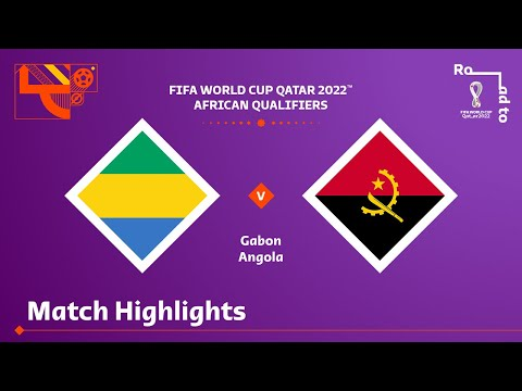Gabon v Angola | FIFA World Cup Qatar 2022 Qualifier | Match Highlights