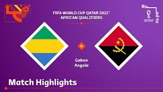Габон  2-0  Ангола видео