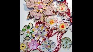 Scrapbook Oldschool Papierblumen---diy---^^oldscool-paper-flowers^^[tutorial]
