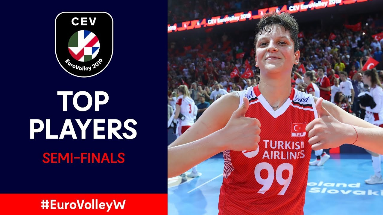 #EuroVolleyW | Top Players – Semi-Finals