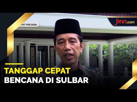 Belasungkawa Presiden Jokowi untuk Korban Bencana Sulbar & Jabar