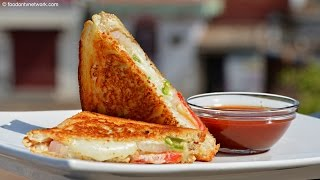 Cheese Sandwich Recipe | Qiock & Easy Fast Food by Nikunj Vasoya
