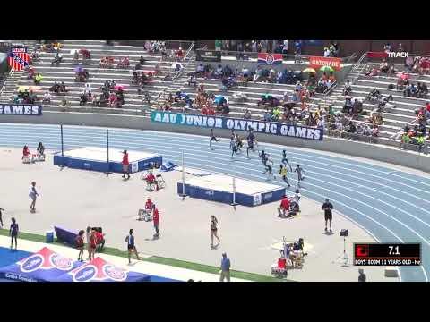 2018 AAU JO 800m Final 11yr boys