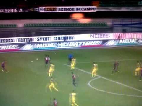 Chievo-Genoa 1-1 gol di Matri (Serie A 8° Giornata)