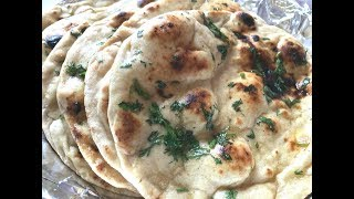 Wheat Tawa butter naan by cooking with girija/Butter naan recipe/Naan without tandoor