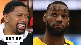 Jalen Rose's NBA midseason awards for LeBron, Zion and Ja Morant | Get Up