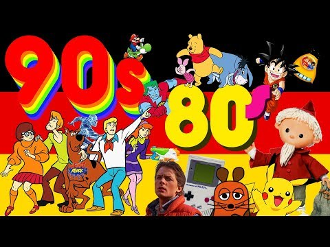 Growing Up In Germany During The 80s/90s - Kindergarden, School, Shows/Movies, Games  Get Germanized
