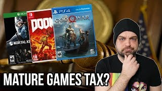 An EXTRA Tax on Mature Video Games COULD Be Coming? | RGT 85