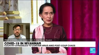 Myanmar struggles to contain coranavirus amid post-coup chaos • FRANCE 24 English